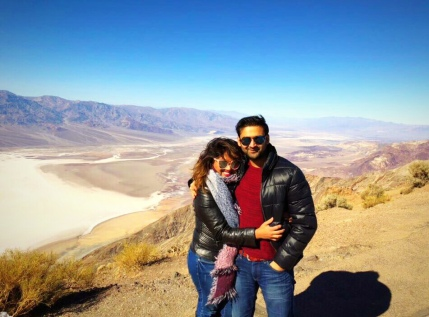 Dantes point Death Valley